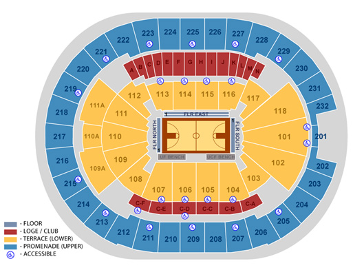 Image Result For Amway Center Seating Map
